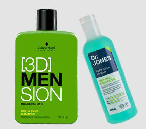 Shampoo Cabelo e Corpo para homem