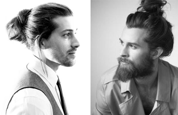 Corte de cabelo masculino - coque