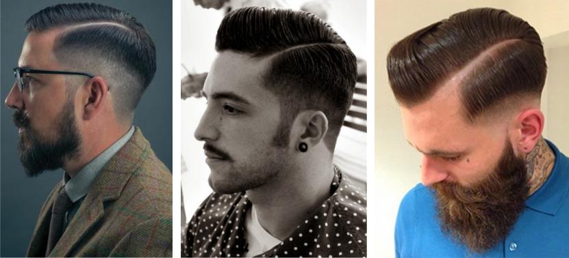"""Este penteado denomina-se por """"Razor Part"""" e é a reinvenção de um estilo  que esteve em voga nos anos 50. Se estão a pensar em fazer algo parecido 08d80eff0fd"""